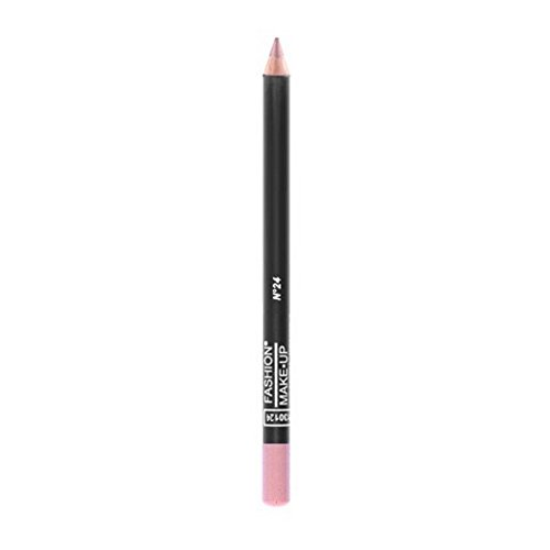 FASHION MAKE UP - Maquillage Lèvres - Crayon Bois - N° 24 Rose