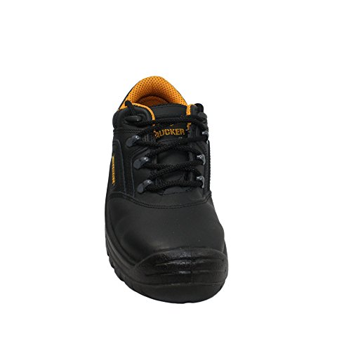 Aimont trucker romany chaussures de sécurité norme s3 sRC chaussures berufsschuhe businessschuhe plat noir Noir - Noir