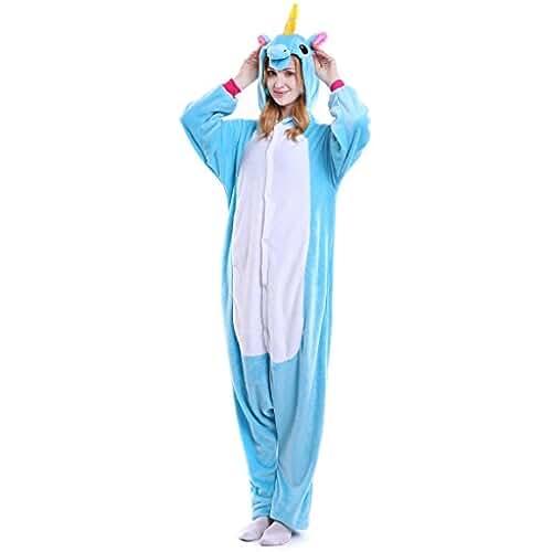 2adc3e1699 Tuopuda Kigurumi Pijamas Unicornio Unisexo Adulto Traje Disfraz Pijamas de  Animales enteros Cosplay Animales de Vestuario