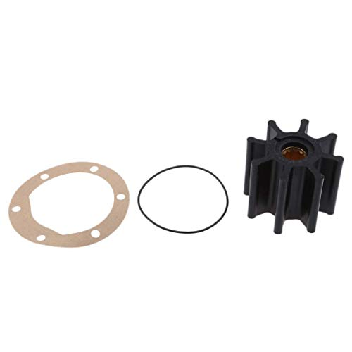 Tubayia Wasserpumpe Impeller Laufrad Dichtung O-Ring Wasserpumpenlaufrad Kit für Johnson -