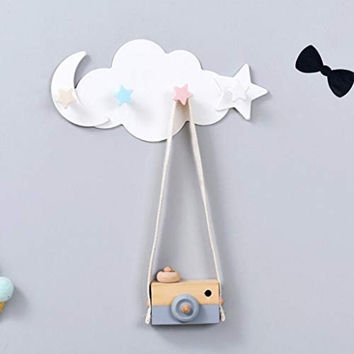 Rifuli® Gerätehalter Besenhalter WandhalterungCreative Cloud Cartoon Glue Hook Bathroom Wall Hook No Trace Strong Hook 0510#007