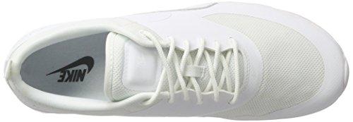 Nike Air Max Thea, Chaussons Sneaker Femme Blanc (White/White 101)