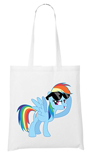 Rainbow Pony Sac Blanc