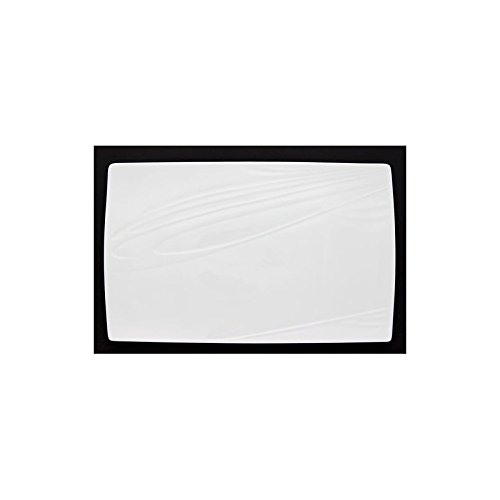 PORCELAINE BLANCHE Plat rectangulaire 'Kensai' 37 cm - KENSAI RECT DISH 37X23
