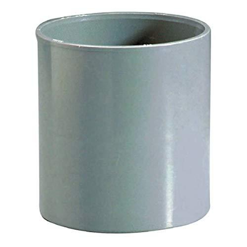Raccord PVC gris Femelle Ø 80 mm Girpi