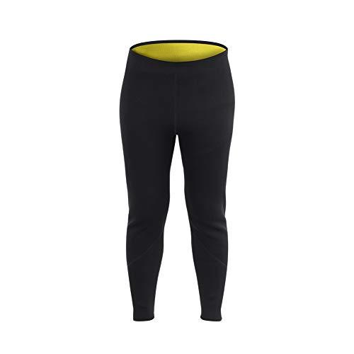 Alomejor Sauna Legging Hosen Neopren Heiß Schweiß Körper Männer Frauen für Fitness Sport(S)