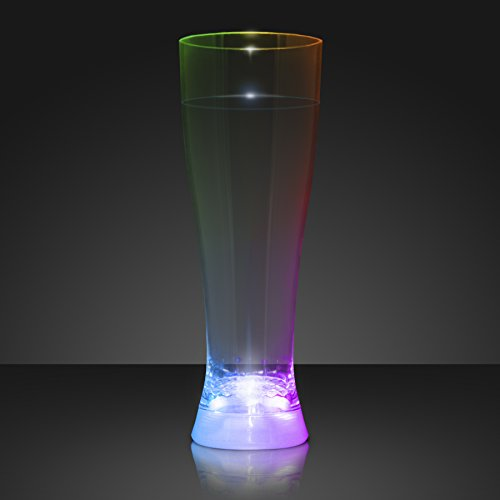 Tall Pilsner Lighted Glasses (Set of 4) by FlashingBlinkyLights -