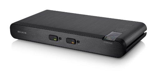 Belkin F1DN102CEA Advanced Secure DVI-I KVM Switch (2-Port Plus)