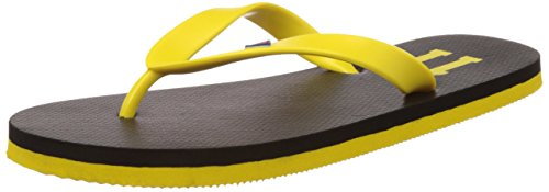 Fila Men's Fila11 Black and Yellow Flip Flops Thong Sandals -6 UK/India(40 EU)(7 US)  available at amazon for Rs.174