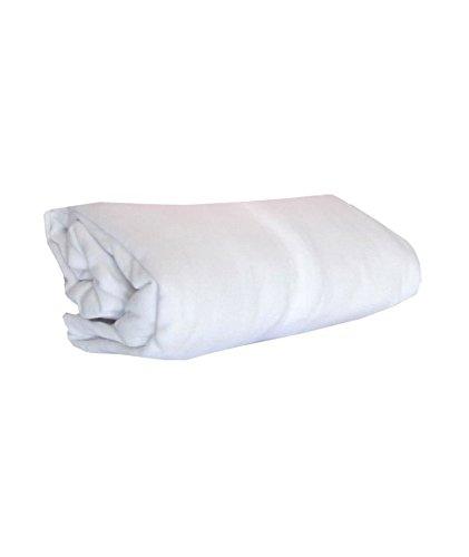 ABB Diffusion Drap housse berceau, en jersey coton extensible, 40 x 80 cm , Coloris Blanc
