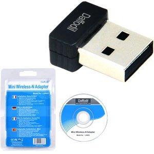 Daffodil LAN03 Receptor Adaptador Wifi USB sin Cables - Alta Velocidad