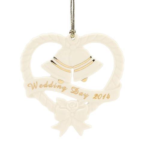 Lenox 2014 Wedding Bells Ornament by Lenox