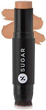 SUGAR Cosmetics Ace Of Face Foundation Stick with Inbuilt Brush - 57 Romano (Medium Deep, Olive Undertone) Ful