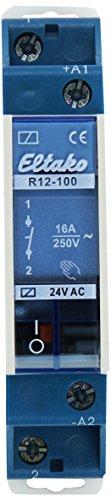 Eltako Schaltrelais, R12-100-24V, AC [Energieklasse A] 24v Relais
