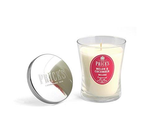 Prices Candles moyenne Parfumée Concombre et Melon Signature Blanc