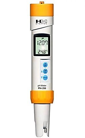 HM DIGITAL PH-200 ph messgerät wasserdichte Handheld PH Meter Portable Water Quality Tester Pen mit ATC Hydroponics Gardening Aquarien Riffe Thermen-Wasser-Behandlung-Trinkwasser