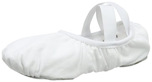 So Danca Damen Sd16 Riemchenballerinas, Weiß (White), 45 EU_Wide