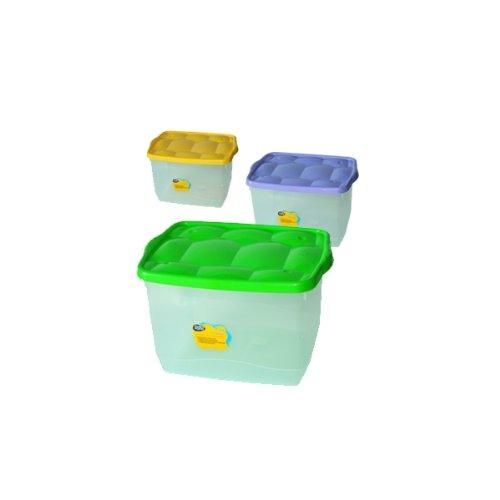 STORAGE BOX 40X30X25 COLORI ASS.TI -