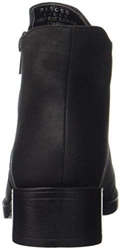 PIECES Damen Psabby Boot Black Clw Stiefel Schwarz (Black)