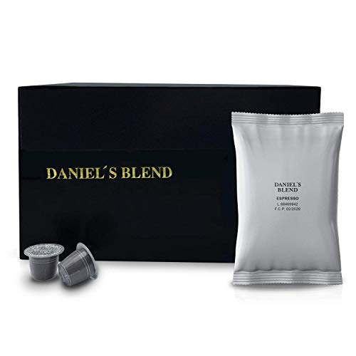 DANIELS BLEND - Economy Pack 100 Cápsulas de Café económico Compati