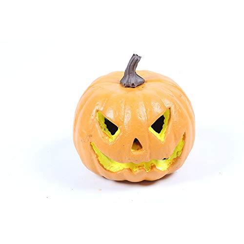 Ndier Halloween-Laternen-Kürbis-Eimer für Kinder als Halloween-Dekoration oder Geschenke (Gelb) ()