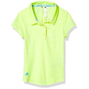 adidas Mädchen Polo Microdot Novelty Short Sleeve Polo