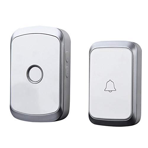 XLGX Drahtlose Fernbedienung Chime Türklingel Tor Alarm Türklingel mit 36-Melody Home Wireless Intelligent (C) - Chime Sender