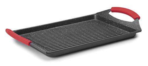 Lacor 24134 Poêle à griller en aluminium Noir 33 x 25 cm