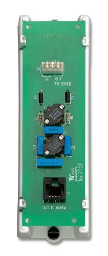 Leviton 47616-dsb DSL Filter Modul, weiß Dsl-filter-modul