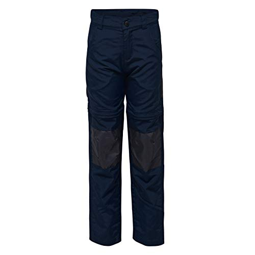 LEGO Wear Jungen Hose LEGO PLATON 104 - All - Wetter - Zipp - Off - Hose 20961, Gr. 128, Blau (Dark Navy 590) (All-wetter-hose)