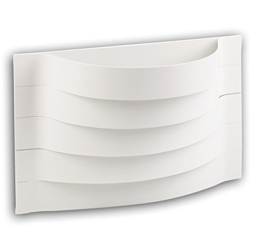 Wandlicht Weiß Umriss (British Beleuchtung Home Stores)