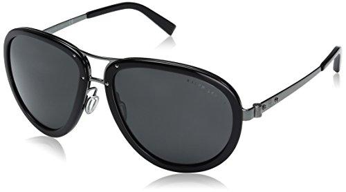 Ralph Lauren Unisex-Erwachsene 0Rl7053 915787 59 Sonnenbrille, Grau Gunmetal/Dark Grey
