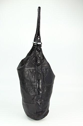 FREDsBRUDER, Borsa tote donna marrone caramello schwarz, schwarz