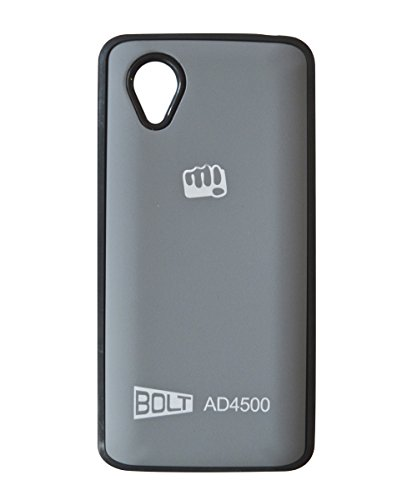 COVERNEW Back Cover for Micromax Bolt AD4500-Grey  available at amazon for Rs.199