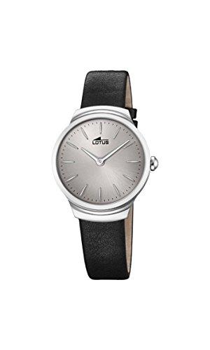 Lotus Watches Femme Analogique Classique Quartz Montre avec Bracelet en Cuir 18500/2