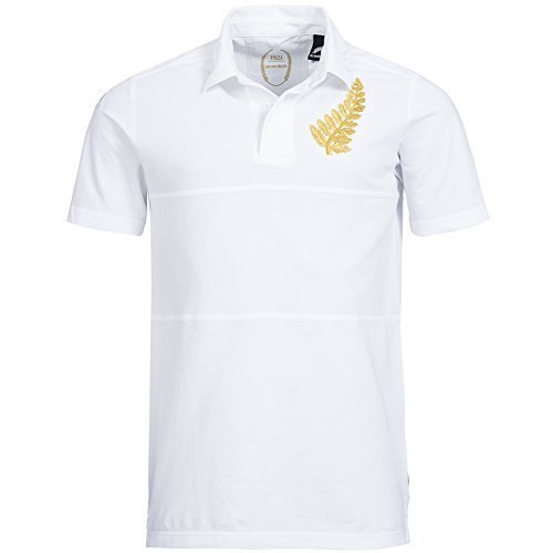 Tutto Blacks adidas Rugby Legacy Shirt Nuova zelanda F88424 - bianco, D4, (Nuova Zelanda Rugby Shirts)