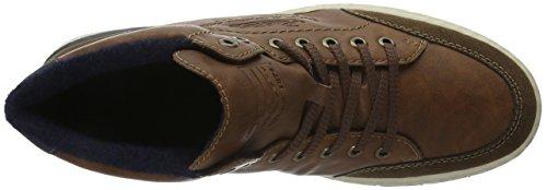 Rieker 38910, Sneakers Hautes Homme Marron (Cigar/Marron/Ozean/25)