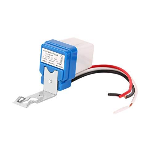 1 stücke Hohe Qualität 12 V 10A Auto AC DC Ein Aus Fotozelle Straßenlaterne Photoswitch Sensor Schalter Heiße Verkäufe -