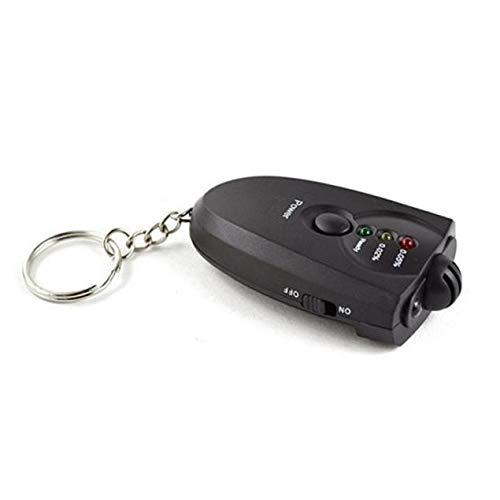 Vaycally Mini Tragbare Digital Exhalation Alkohol Tester Auto Schlüsselanhänger Alkohol Tester Digital Alkoholtester Alkohol Atem Analyze Tester