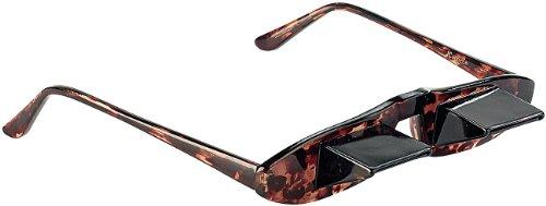 Zavarius Prismenbrille: 60° Blick-umlenkende TV-Brille mit Prisma (Winkelbrille)