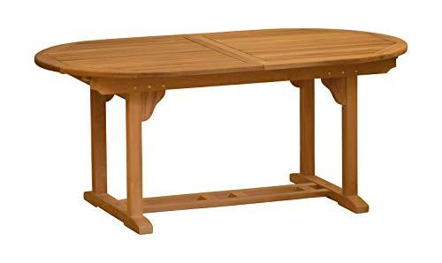 Kai Wiechmann®, eleganter Ausziehtisch aus der Premium-Serie Brighton gefertigt aus Teakholz 240 cm ausziehbar auf 300 cm/Gartenmöbel/Gartentisch/Auszugstisch/Teak-Tisch/Premium-Qualität