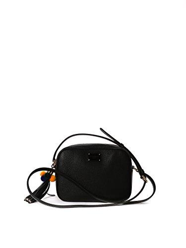 dolce-e-gabbana-womens-bb6294ac17680999-black-leather-shoulder-bag