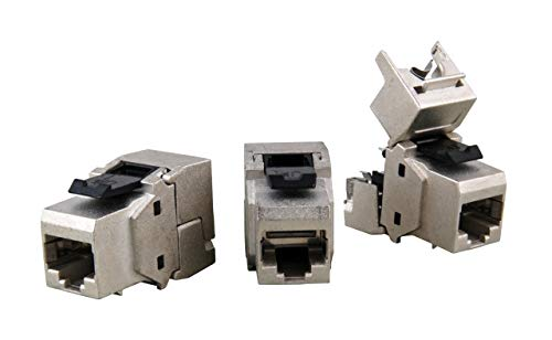 EFB-Elektronik RJ45 Keystone STP, Cat.6A, 500MHz, Komponenten Zertifiziert