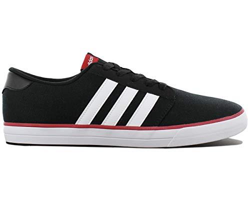 adidas VS Skate B74220 Herren Schuhe Schwarz - Grösse: EU 42 2/3 UK 8.5 (Für Skate Herren Schuhe Von Adidas)