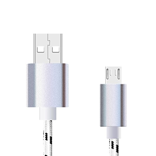 Preisvergleich Produktbild 1m Micro USB Kabel für Blackview BV6000 / BV6000S Smartphone - Blackview IP68 USB Kabel Ladekabel
