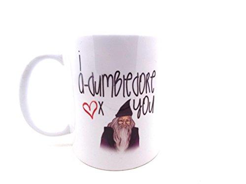 Harry Potter medinc taza - I-Dumbledore te 11 oz taza de día de San V