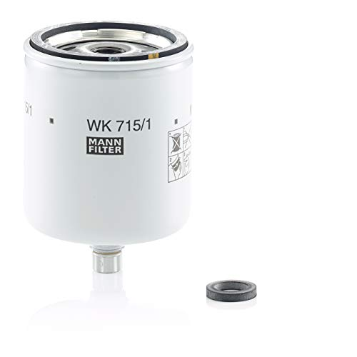 Original MANN-FILTER Kraftstofffilter WK 715/1 x – Für Nutzfahrzeuge