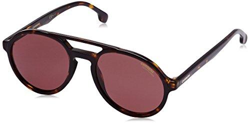 Carrera UV Protected Rectangular Unisex Sunglasses - (CARRERA PACE 086 53W6|53|Black Color)