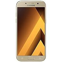 Samsung Galaxy A5 2017, Smartphone libre (5.2'', 3GB RAM, 32GB, 16MP/Versión italiana: No incluye Samsung Pay ni acceso a promociones Samsung Members), color Dorado