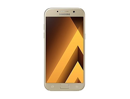 Samsung Galaxy A5 2017, Smartphone libre (5.2'', 3GB RAM, 32GB, 16MP) [Versión italiana: No incluye Samsung Pay ni acceso a promociones Samsung Members], color Dorado